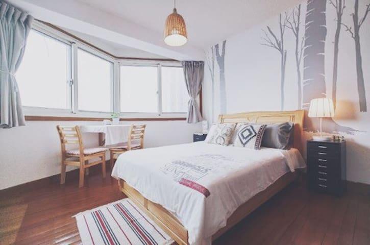 【BU舍】田子坊对面温馨公寓/独立房间/可做饭 - 上海 - Apartament
