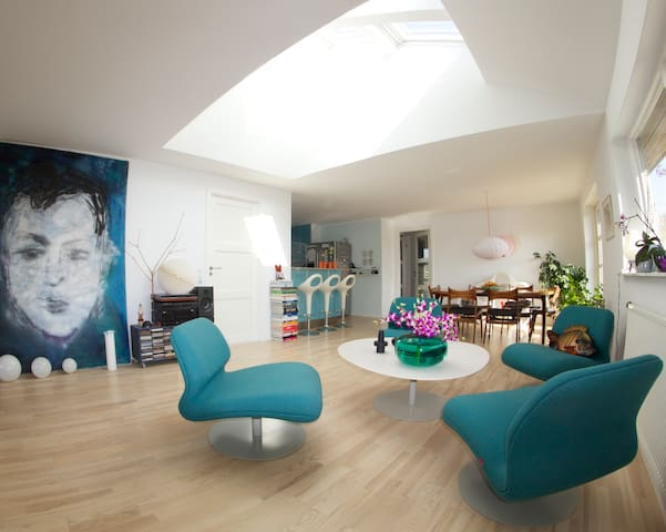 2 Rooms in the renovated art house - Kokkedal