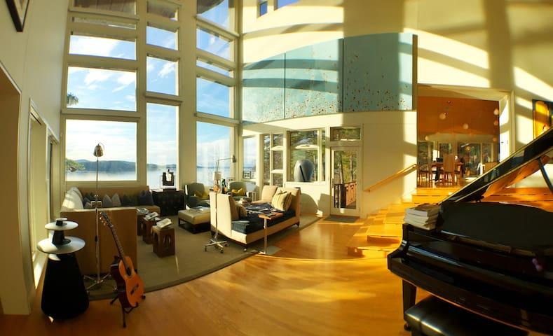 Luxury Waterfront Bnb, Room 2 - Wolfeboro - B&B