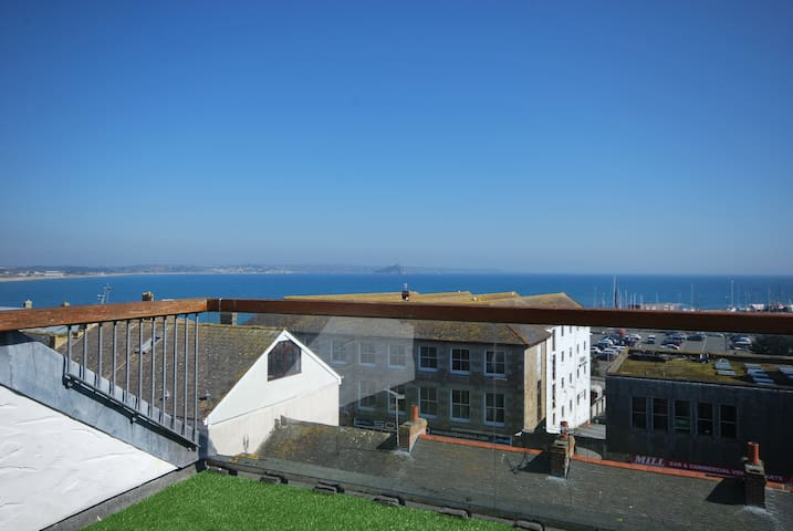 Stunning Views Over Mounts Bay - Penzance - Leilighet
