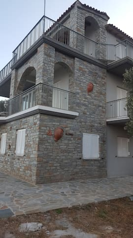 Villa Aegean Balcony - Korasida - Villa