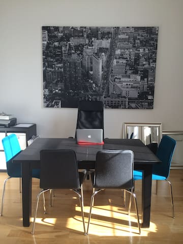 Warm and Modern Loft in Historic Paterson - Paterson - Loft