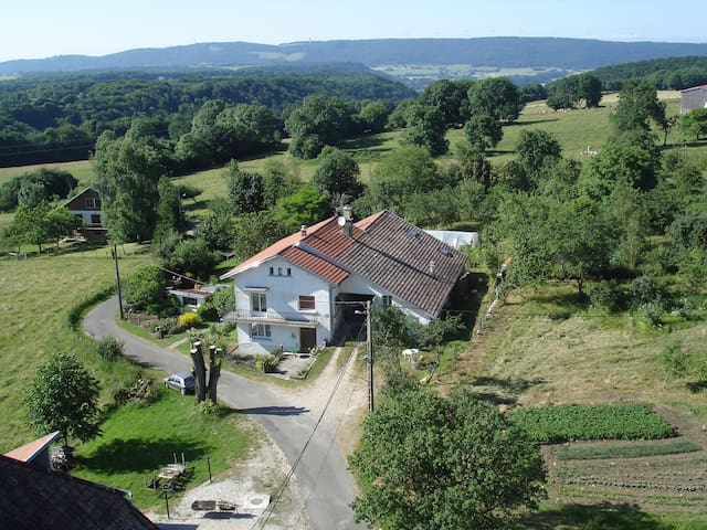gîte ou gîte musical,  milieu rural - Provenchère - Hus