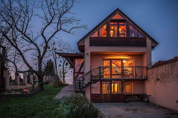 Panoráma a zalai dombokra - Zalaegerszeg - Haus