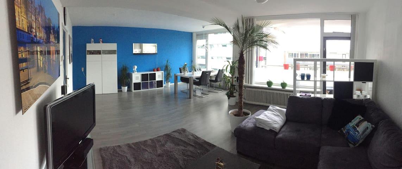 Ruim Appartement, veel licht, FREE-WIFI - Apeldoorn - Appartement
