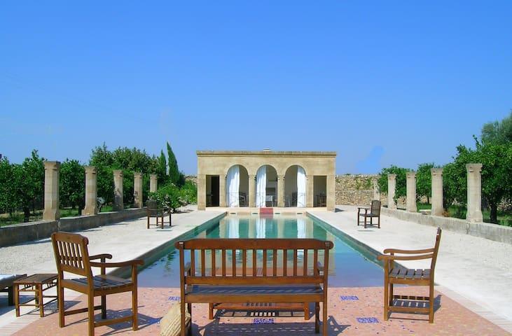 Luxury Villa Masseria - Relaxing Private Pool - Montemesola - Casa