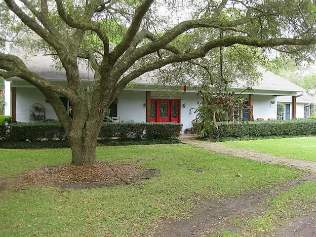 Wooded Retreat near Houston and Galveston - Dickinson - Dom