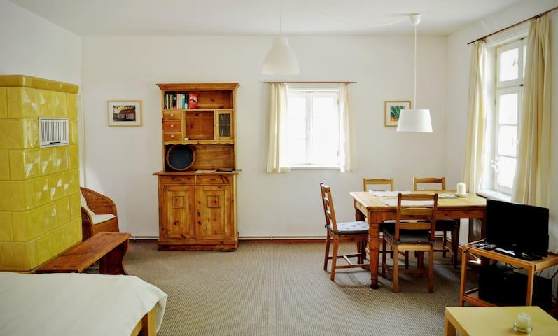 """Das Alte Köhlerhaus - mit Sauna - FeWo """"Briesen"""" - Temmen-Ringenwalde - Lägenhet"""