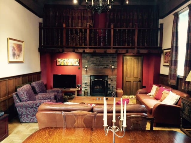 Beautiful converted chapel with gallery bedroom. - Chester