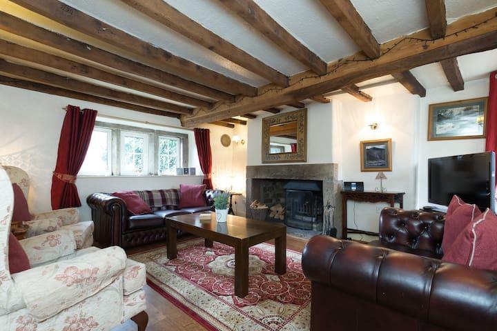 Knowl Cottage - graded 5 Stars - Hartington - Huis