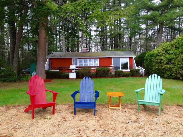 Beautiful Lakeside Cottage in Maine - North Berwick - Casa