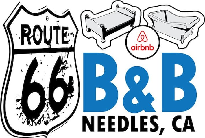 Route 66 B&B Private (1 bedroom) - Needles - Talo