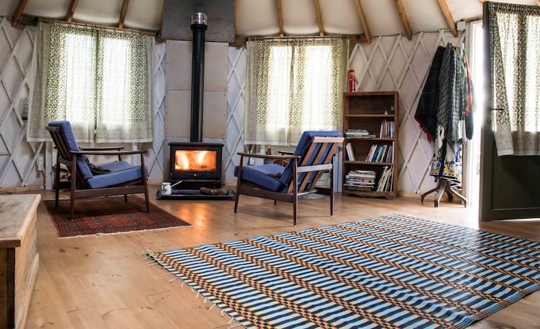 charming yurt in the heart of nature - Klil - Rundzelt