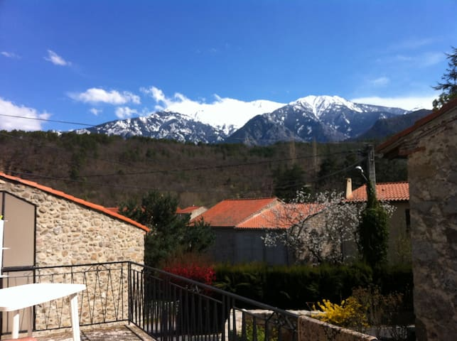 Family Holiday Home with a View of the Canigou! - Fuilla - Feriehjem