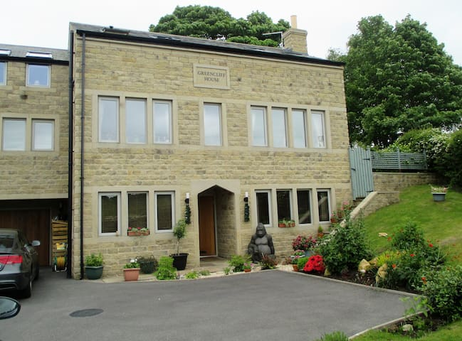 Two rooms in contemporary house in Holme Valley - Honley - Dom