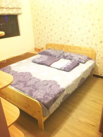 Cilla's place-高鐵雙人房型 - Zhubei City - Kondominium