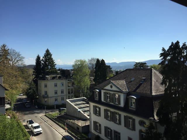 Sonnige Dachwohnung Sunny Penthouse - Zürich - Apartemen