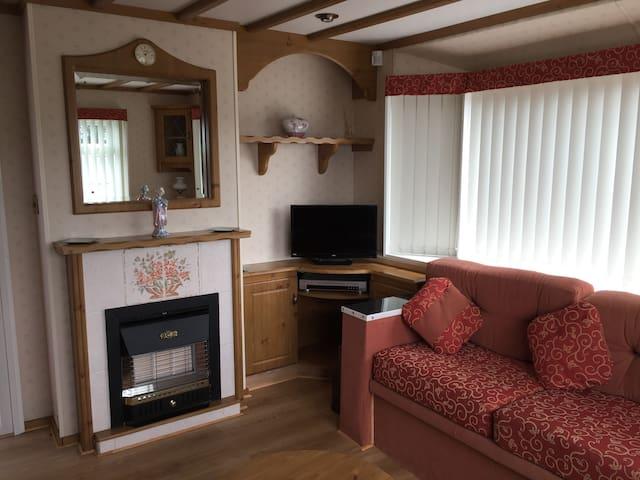 Luxury caravan Skegness with central heating - Skegness - Annat