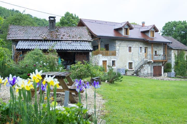 Near lake and mountains - Saint-Pierre-de-Curtille - Casa