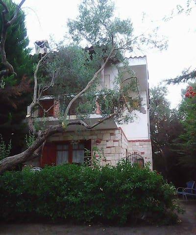 Μεζονέτα με κήπο, πολύ κοντά στη θάλασσα Πολύχρονο - Polychrono - Casa
