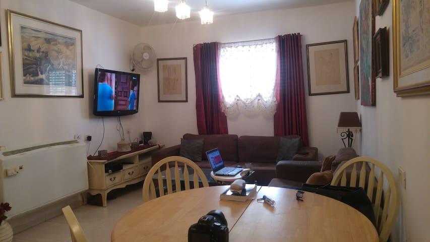 Quit and excelent location. - Caesarea - Lägenhet