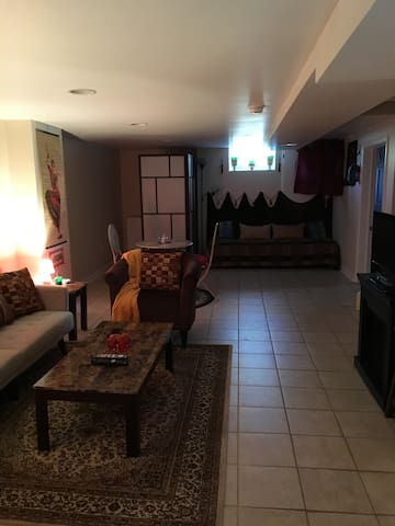 Lower level suite with 2BD and 1BTH - New Castle - Hus