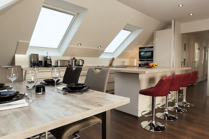 Ruhige Wohnung in der Nähe von Frankfurt - Kelkheim (Taunus) - Huoneisto