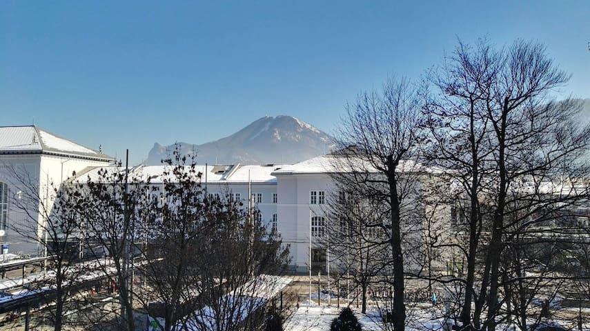 City-Center flat next mainstation + mountain view! - Salzburg