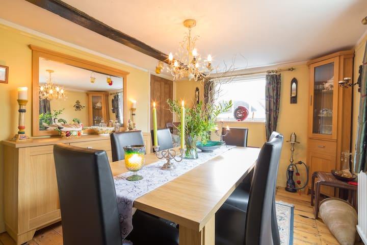 B & B in lovely cottage Cambridge - Sawston - Oda + Kahvaltı