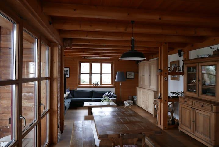 Maison avec jardin proche vignoble - Orschwihr - Huis