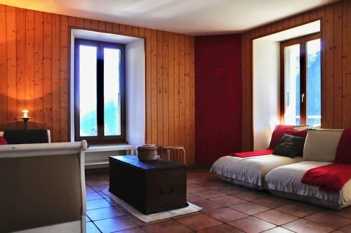Quiet getaway near Chamonix - Finhaut - Byt