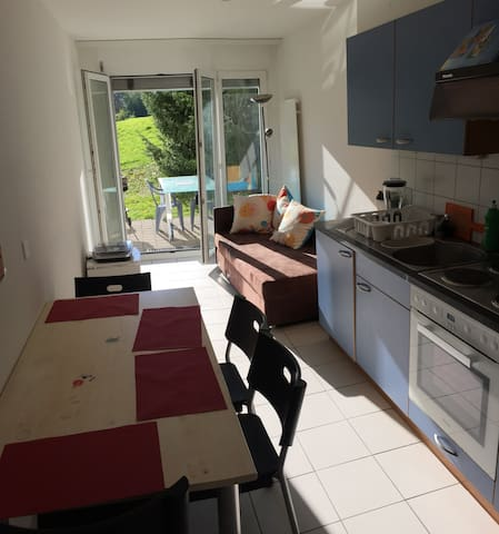 Lovely apartment in Fribourg - Marly - Lägenhet