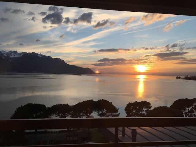 Apparteme  Montreux  à 100 m du lac - Montreux - Apartament