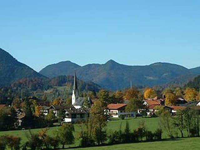 Chalet Galeriewohnung Berge pur - Bayrischzell - Departamento
