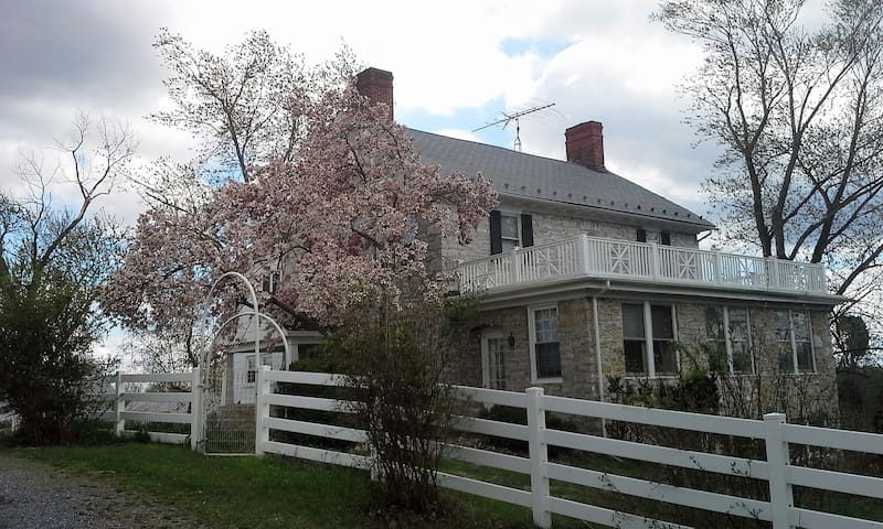 Stone House Mansion 1757 – Tucker Room - Kearneysville - Casa