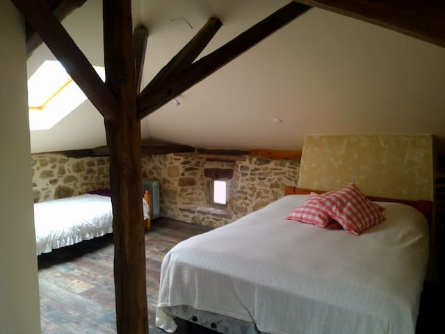 Cheronnac cottage and meadow - Chéronnac - Casa
