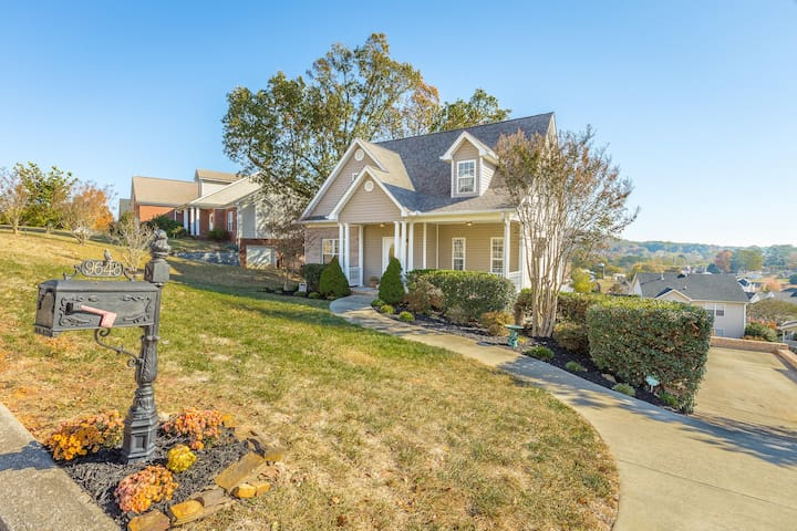 Comfortable Ooltewah home with scenic view - Ooltewah - Casa