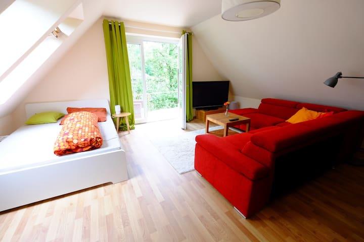 Gemütliches, kleines Apartment mit Terasse - Osnabrück