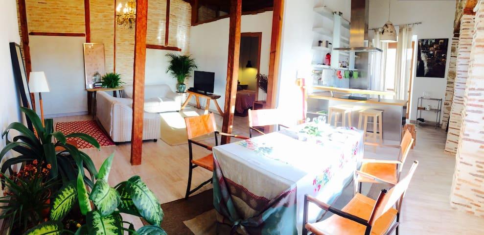 LUJO A PIE DE LA CATEDRAL+ DESAYUNO - Segovia - Huis