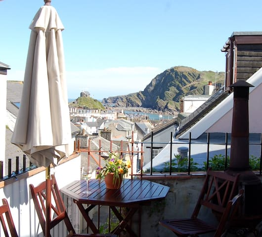 Double 2-room Seaview Suite in 'Foodie' Fore St - Ilfracombe