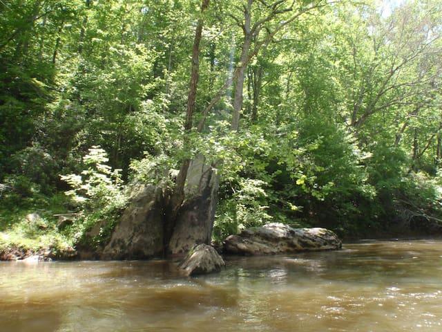 Slate River Getaway - Arvonia - Casa