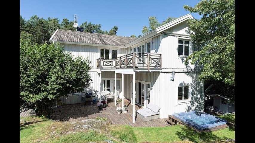 Wonderful house with nature around the corner - Lidingö - Casa