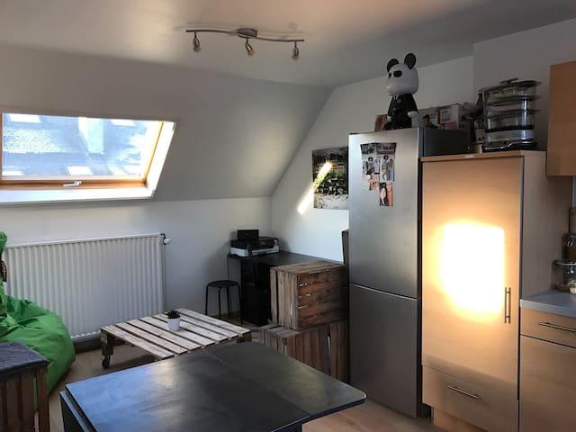 Cosy studio in the city center - Namur - Leilighet