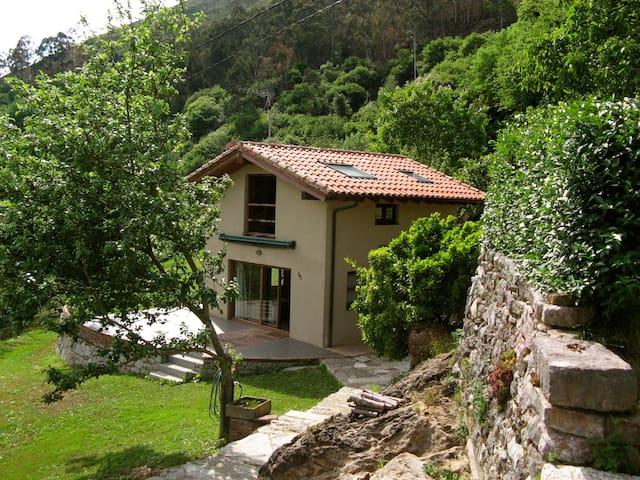 casa independiente con jardín - Ardisana