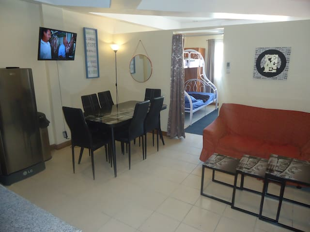 Fully Furnished Apartment - Up to 6 people - Olongapo - Apartamento
