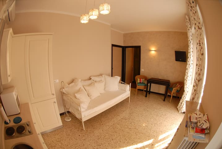 Cozy apartment with Free WiFi and parking - Bérgamo - Apartamento