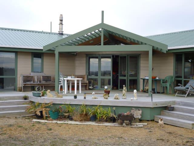 Cosy house near beach and village. - Waitarere Beach - Huis