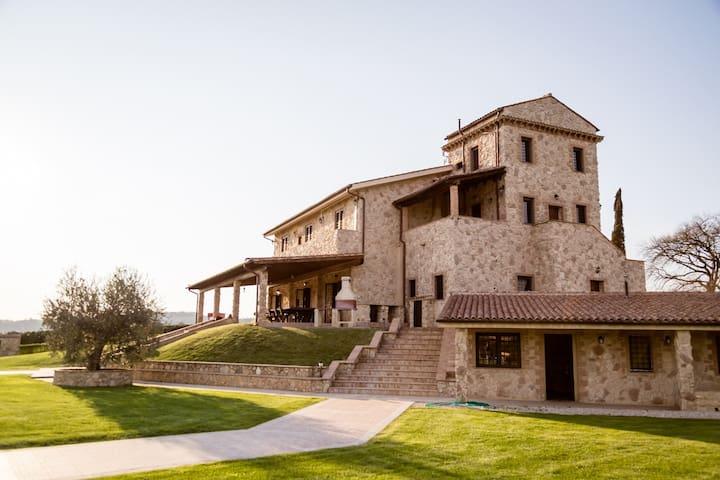 Podere Torricella amazing romantic villa in Narni - Narni - Villa