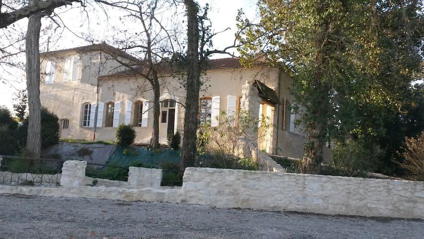 maison 175m² s/ site de charme, loisirs, festivals - Valence-sur-Baïse - Casa