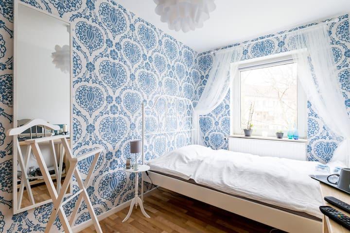 Zentrales Zimmer, Innenhofblick - Hannover - Appartement